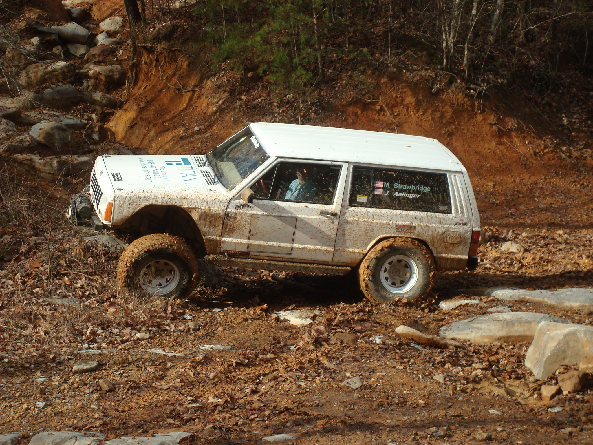 Jeep Cherokee off road XJ 33