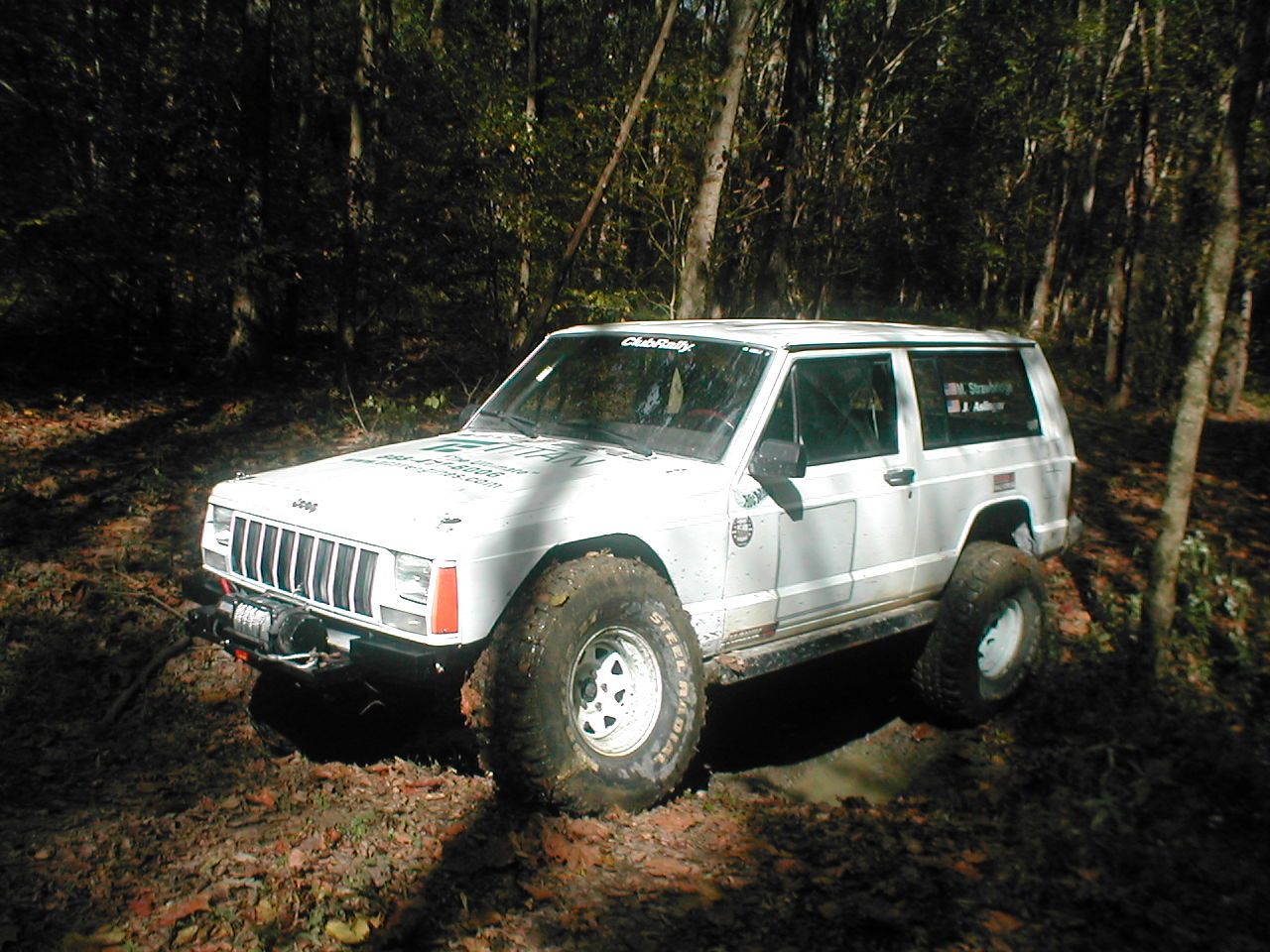 Jeep cherokee XJ off road