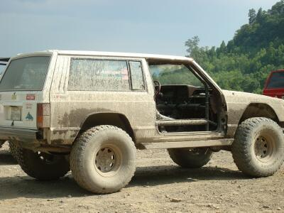 Jeep Cherokee removable doors