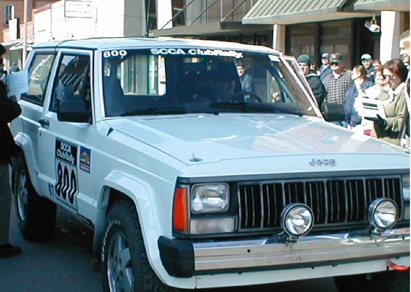 Rally Jeep Cherokee 100aw